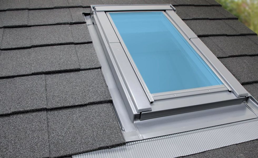 Roof Light Exterior on Solid Tile Roof