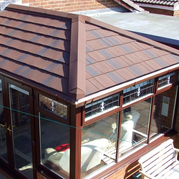 Brown Conservatory Tiled Roof