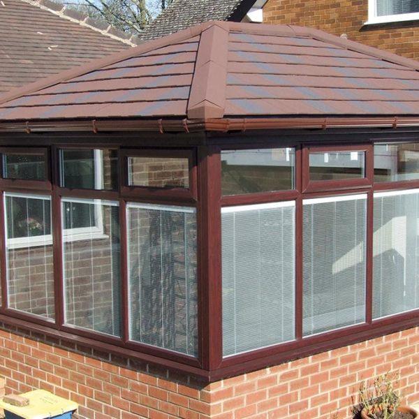 Edwardian Solid Tile Roof