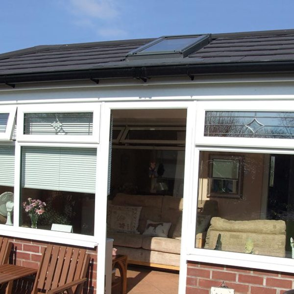 Grey Tiled Conservatory Roof