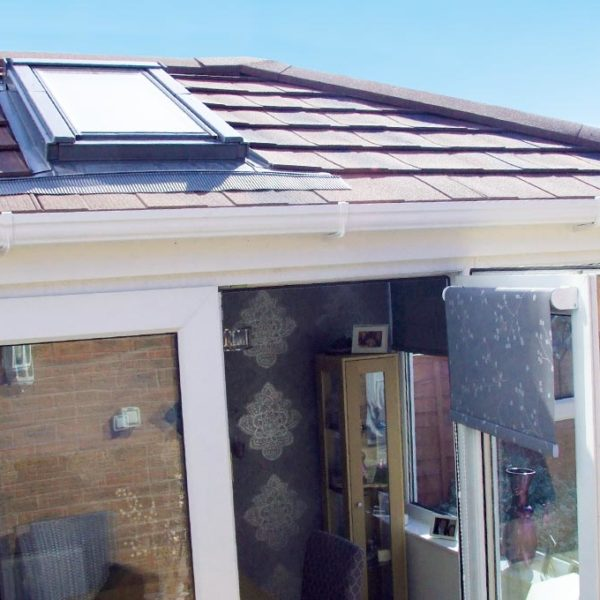 Rooflight Conservatory with Tiles