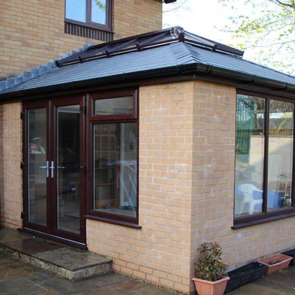 Slate Orangery Solid Tile Roof