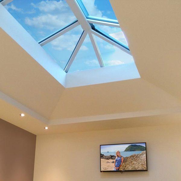 Orangery Solid Tile Roof Internal