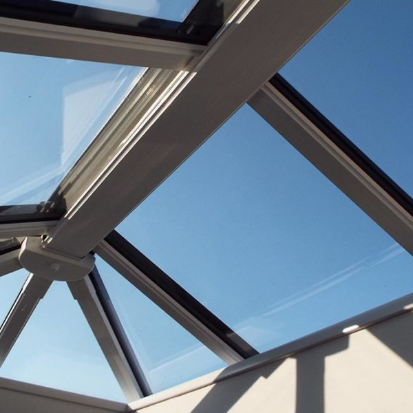 Orangery Solid Tile Roof Lantern Internal