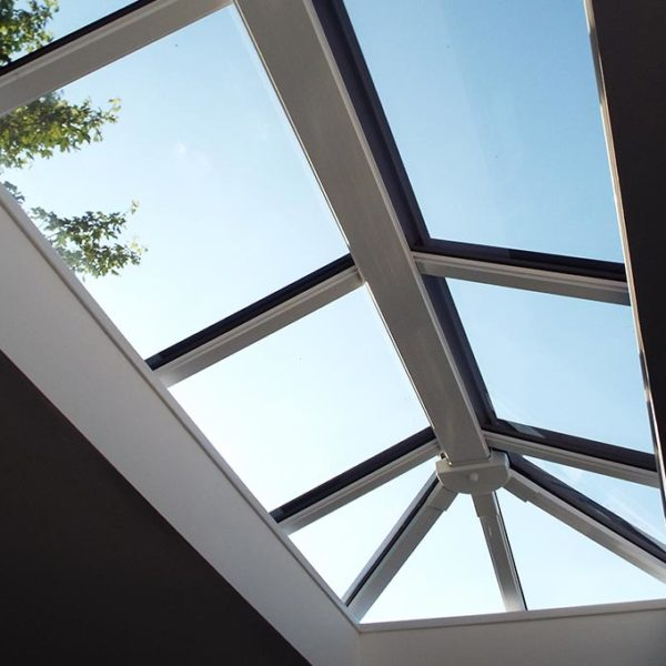 Orangery Solid Tile Roof Lantern View
