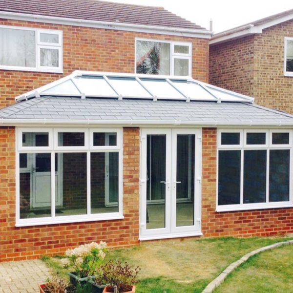 Orangery Solid Tile Roof Installation