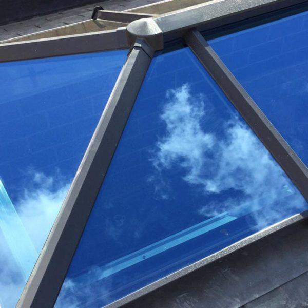 Orangery Solid Tile Roof Lantern Exterior
