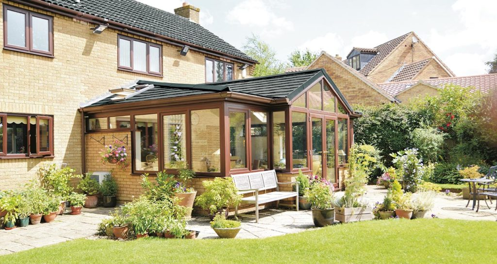 Premium Solid Tile Conservatory Roof