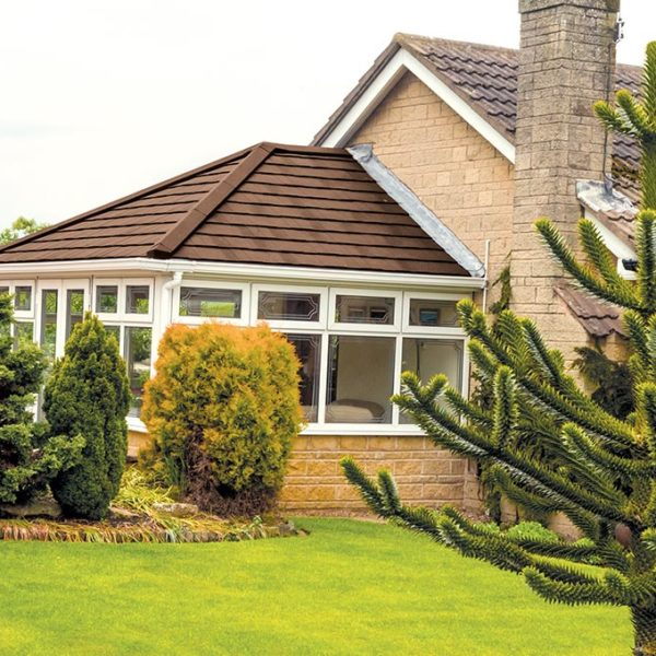 Premium Solid Tile Conservatory Roof Installation