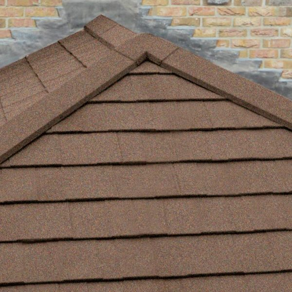Walnut Solid Tile Roof