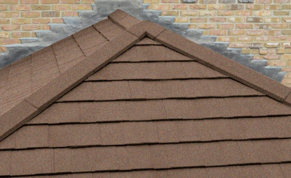 Walnut Solid Tile Roof